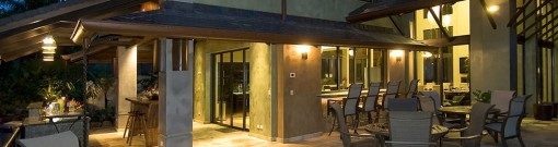 Costa Rica Luxury Rentals Villa Paraiso Manuel Antonio Outdoor Kitchen Ocean View Patio 5