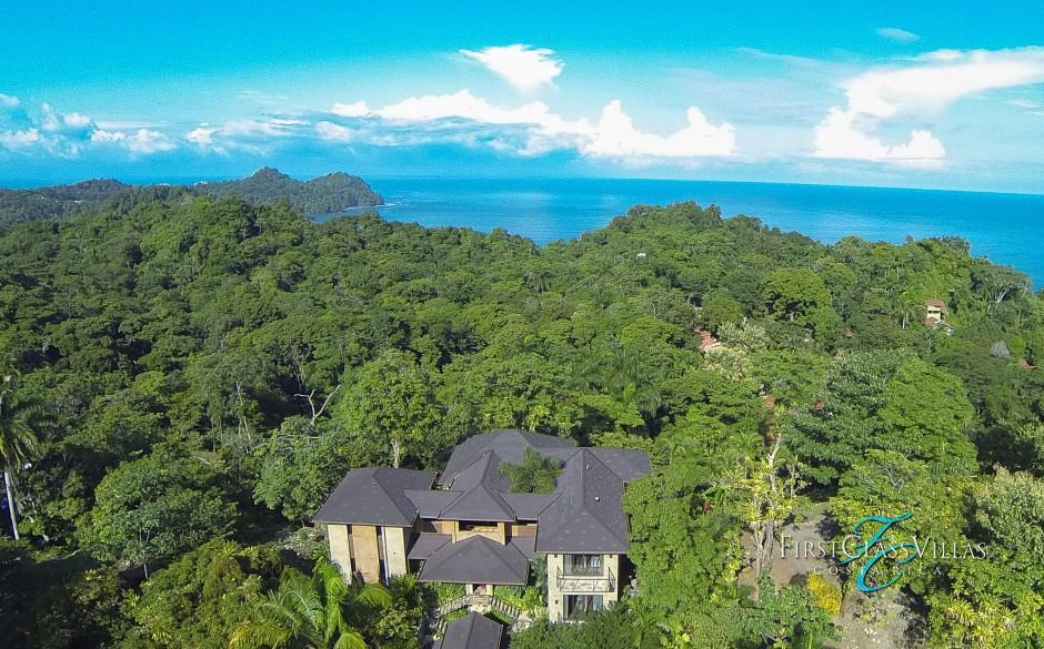 Villa Paraiso Aerial View