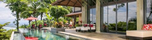 Costa Rica Villa Paraiso Ocean View Infinity Edge Pool 1
