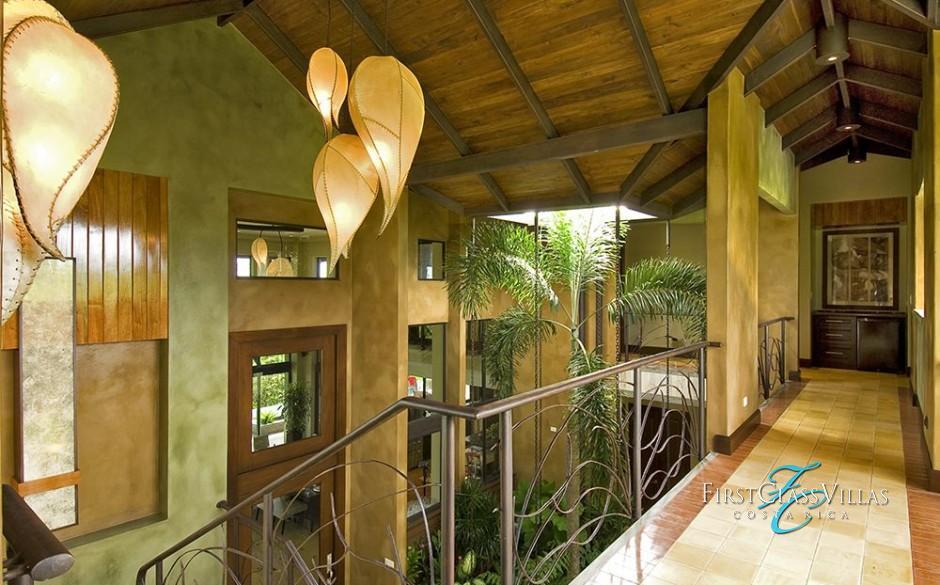 Villa Paraiso Second Level Outdoor Walkway
