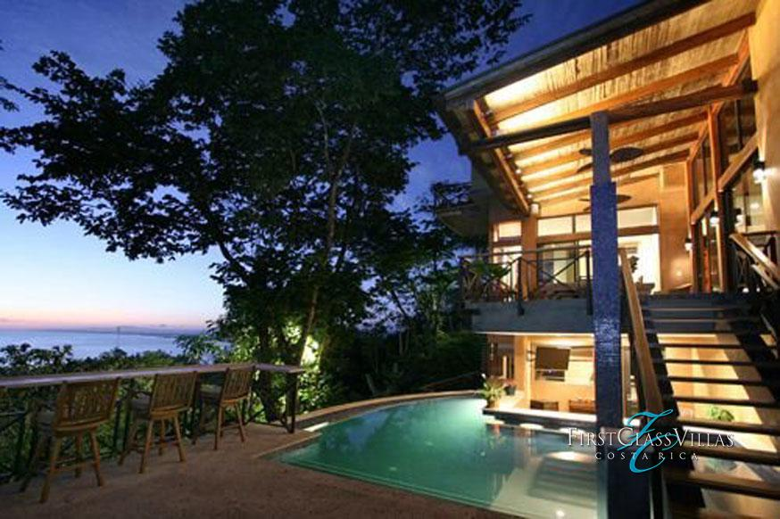 Villa reserva costa rica villa rentals for Costa rica luxury villa