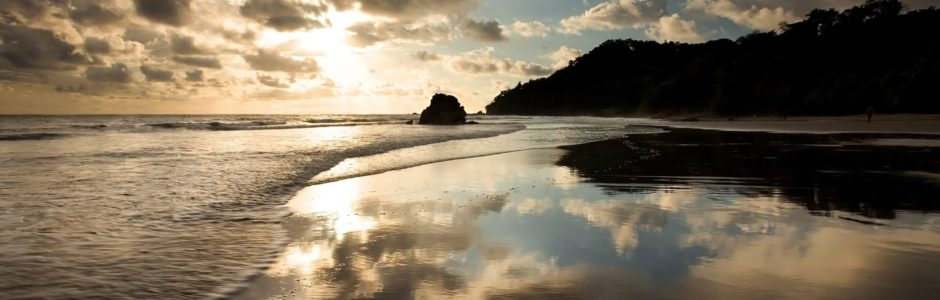 Sun and Clouds Manuel Antonio Beach