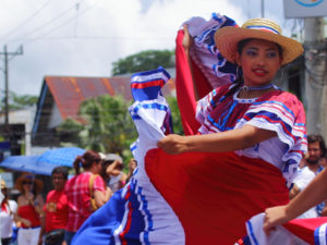 Costa Rica Independence Day Parade in Quepos-cover